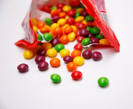 Drinking one sweetened iced tea or a year a day is equivalent (in sugar content) to eating 15,000 Skittles.